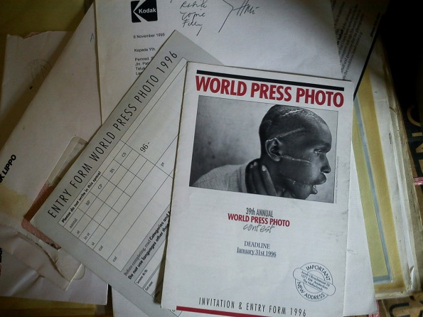 sempat dapat undangan ikutan lomba world press photo 1996